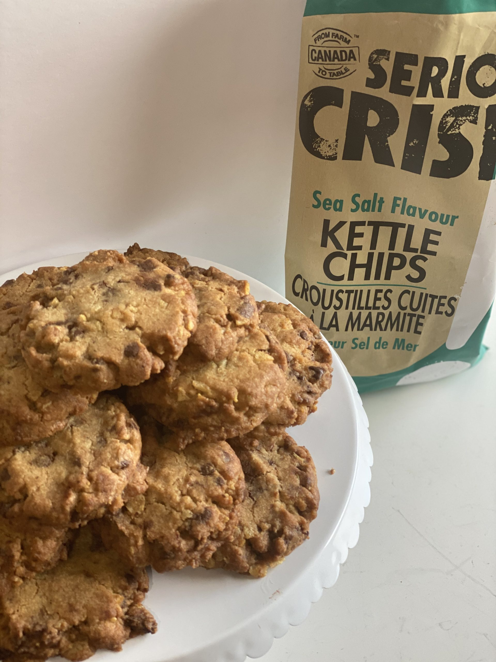 Brown Butter Potato Chip Chocolate Chip Cookies